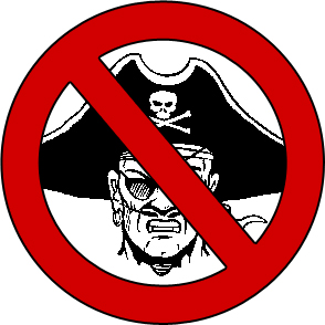 Say no to pirates!